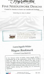 Wagon Cross Stitch Bookmark Kit 1