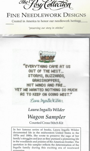 Wagon Sampler Cross Stitch