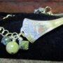 silverware bracelet green chain2