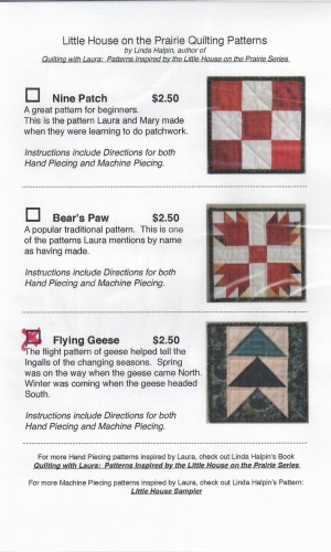 Flying Geese Quilting Pattern