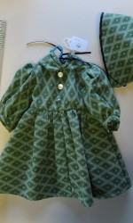 doll dress green