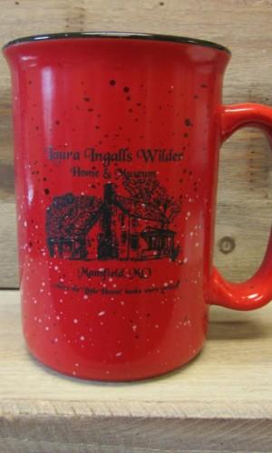 campfire mug red