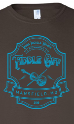 Fiddle Off Shirt 2019 Brown & Turq